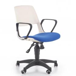 Studentská otočná židle Halmar JUMBO modrá-bílá