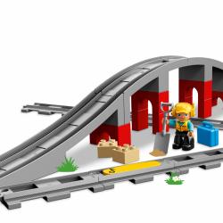 LEGO® DUPLO Doplňky k vláčku – most a koleje 10872
