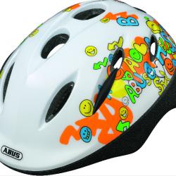 Dětská helma ABUS Smooty White Velikost M 50-55cm