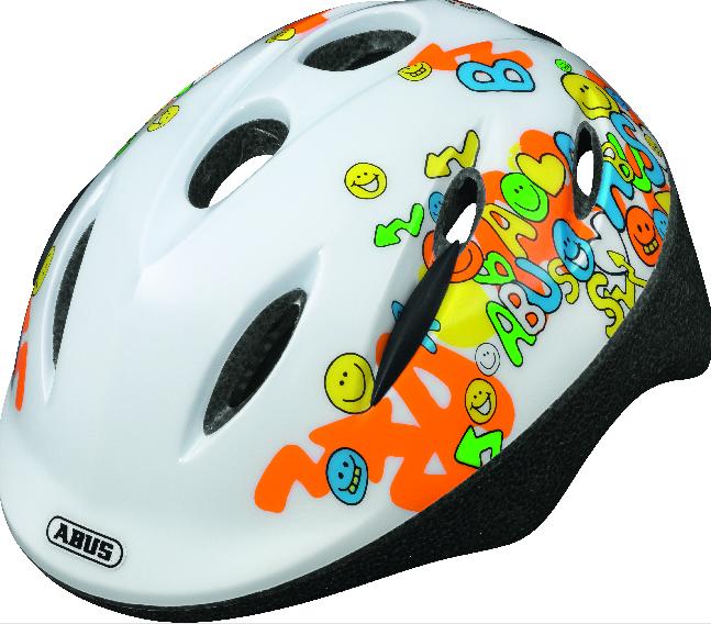 Dětská helma ABUS Smooty White Velikosť M 50-55cm