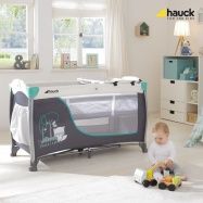 Hauck Sleep'n Play Center II 2018 cestovná postieľka: forest fun