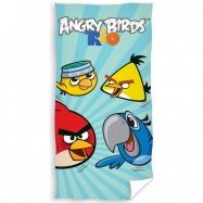 Carbotex osuška Angry Birds Rio blue