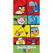 Carbotex osuška Angry Birds Rio kostky