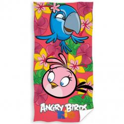 Carbotex osuška Angry Birds Rio růžová