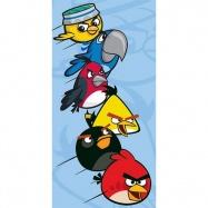 Carbotex osuška Angry Birds Rio modrá