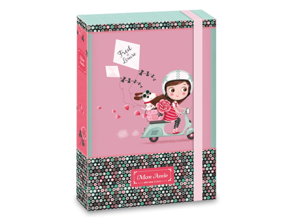 Box na zošity Mon Amie 18 A5