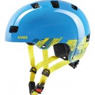 Dětská helma UVEX  KID 3 BLACKOUT BLUE 51- 55 cm