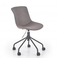 Dětská otočná židle Doblo  šedá