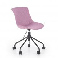 Detská otočná stolička Doblo ružová