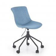 Detská otočná stolička Doblo modrá
