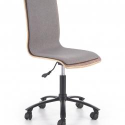 Dětská židle JACK ořechovo-šedá