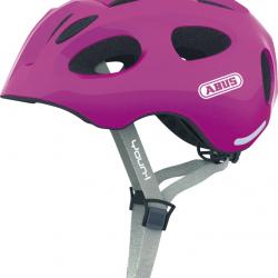 Dětská helma ABUS Youn-I sparkling pink Velikost M 52-57cm