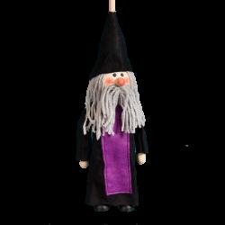 Dřevěná loutka bez nití Kouzelník