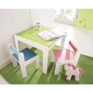 Stolik dla dzieciplus 2 krzesła Haba