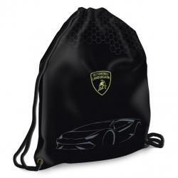 Vrecko na prezúvky Lamborghini maxi čierny