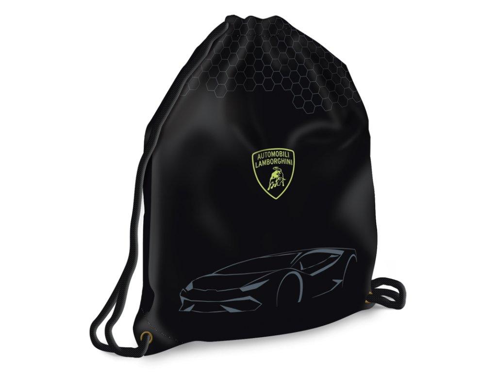 Sáček na přezůvky Lamborghini maxi černý