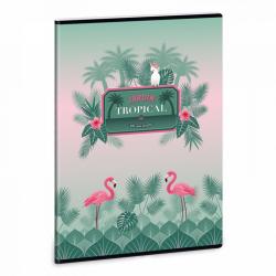 Ars Una Zošit Pink Flamingo A4 linajkový