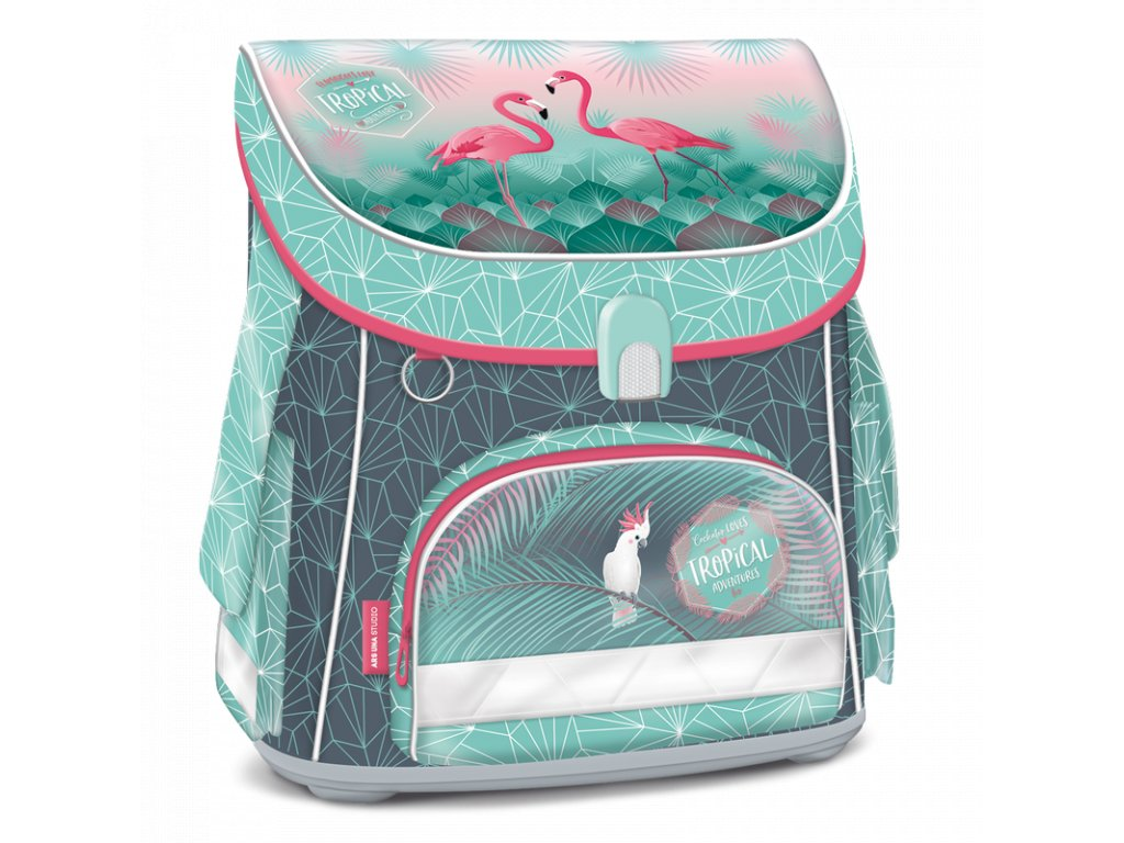 Tornister  Pink Flamingo 19 magnetic