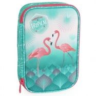 Školský peračník Pink Flamingo
