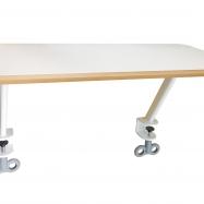 Odkládací polička bílá pro stůl Roland III