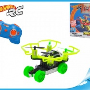 Hot Wheels Quad Racerz auto 7,6cm race & fly 2,4GHz na batérie s USB pripojením 2barvy v krabičke