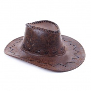 klobúk kovbojský, dospelý