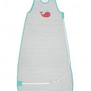 LOVE TO DREAM Rychlozavinovačka Nuzzlin 2.5, Grey/white 18 - 36 měsíců
