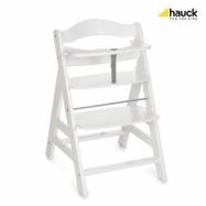 Hauck Alpha+  židlička dřevěná white