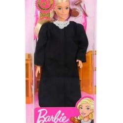 Mattel Barbie sudkyňa beloška
