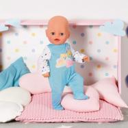 BABY born Little Overal na spaní, modré, 36 cm