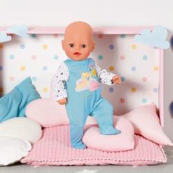 BABY born Little Overal na spanie, modrej, 36 cm