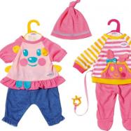 BABY born Little Oblečení na hraní, růžové kalhoty, 36 cm