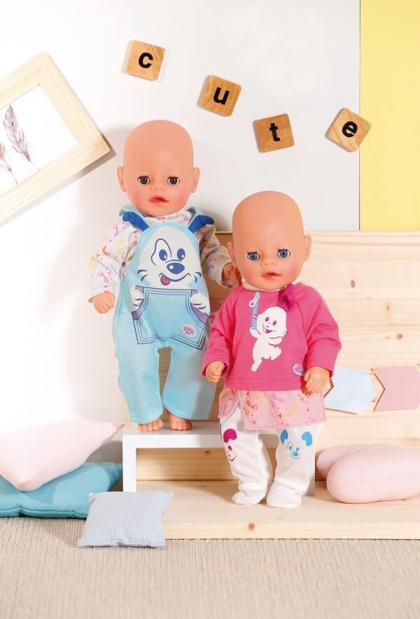 BABY born Little Roztomilé oblečení, růžové, 36 cm
