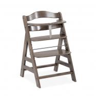 Hauck Alpha+ 2020 židlička dřevěná : charcoal