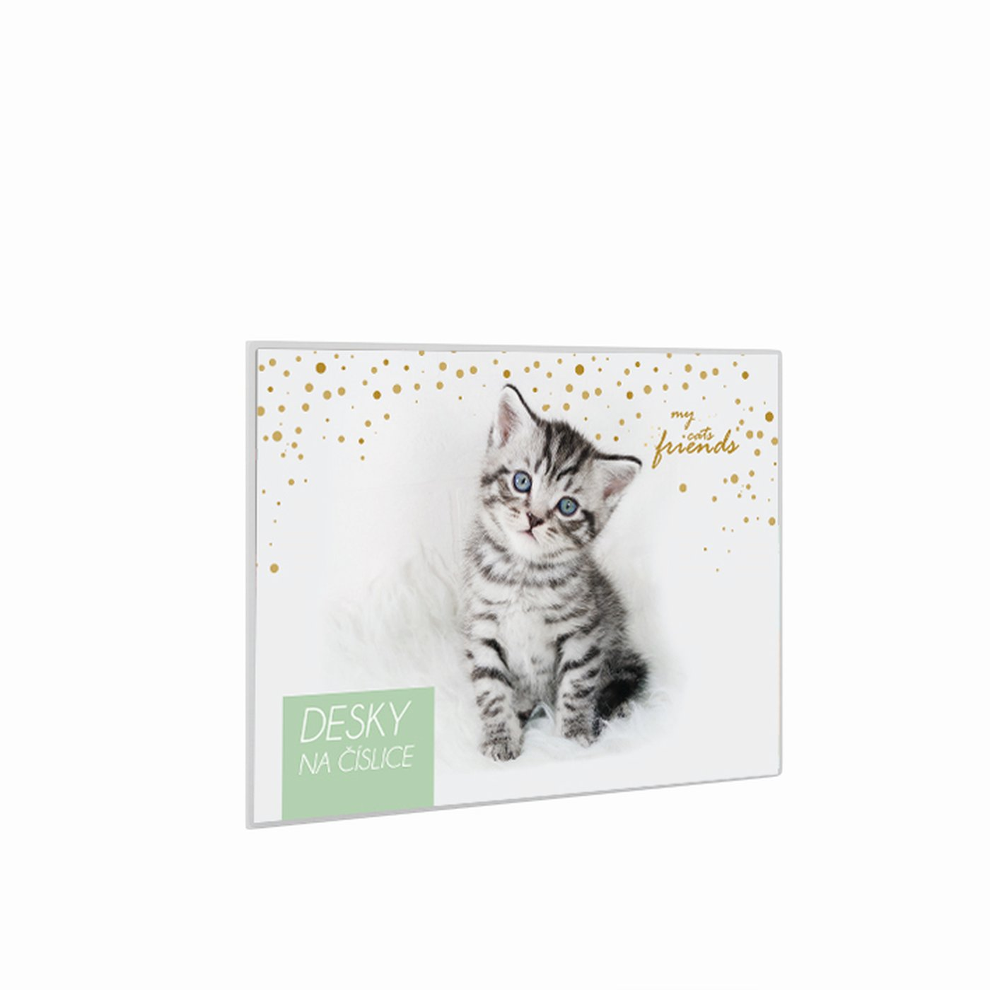 Desky na číslice kočka