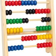 Dřevěné hračky - Školní pomůcky - malé dřevěné počítadlo