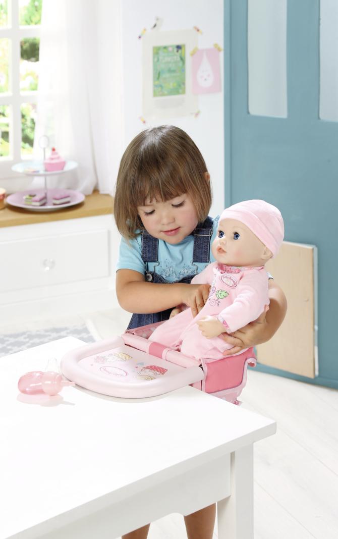 Baby Annabell ® Jedálenská stolička s uchytením na stôl 701126
