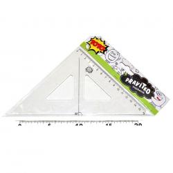 Pravítko 833142 trojúhelník