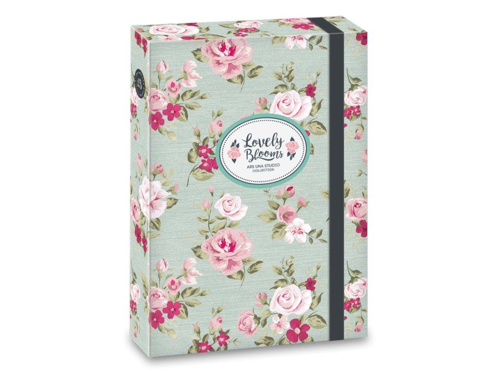 Box na zošity Vintage Rose A5