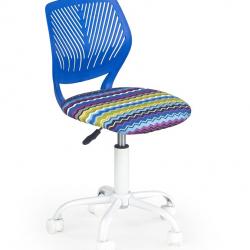 Dětská otočná židle Halmar BALI modrá