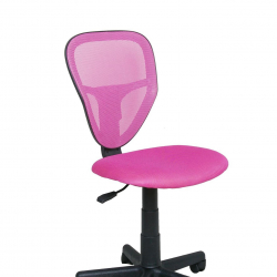 Dětská otočná židle Halmar SPIKE růžová