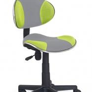 6fd1897e57b4 Detská otočná stolička Halmar FLASH 2 zelená-šedá