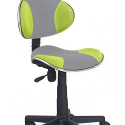 Dětská otočná židle Halmar FLASH 2 zelená-šedá