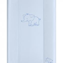 Přebalovací podložka Puppolina pevná Slon Modrá 50 x 80 cm