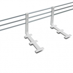 Reer Barirka ochronna do łóżka, regulowana - metal