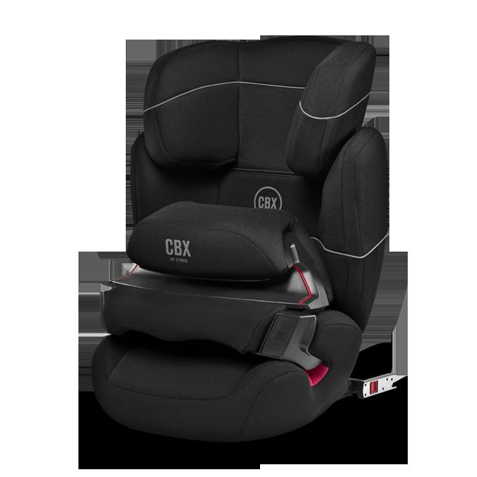 Cybex Aura-FIX CBXC Pure Black 2016