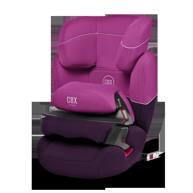 Cybex Aura-FIX CBXC Purple Rain 2016