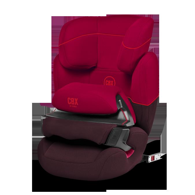 Cybex Aura-FIX CBXC Rumba Red 2016