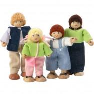 Panenky pro dřevěné domečky