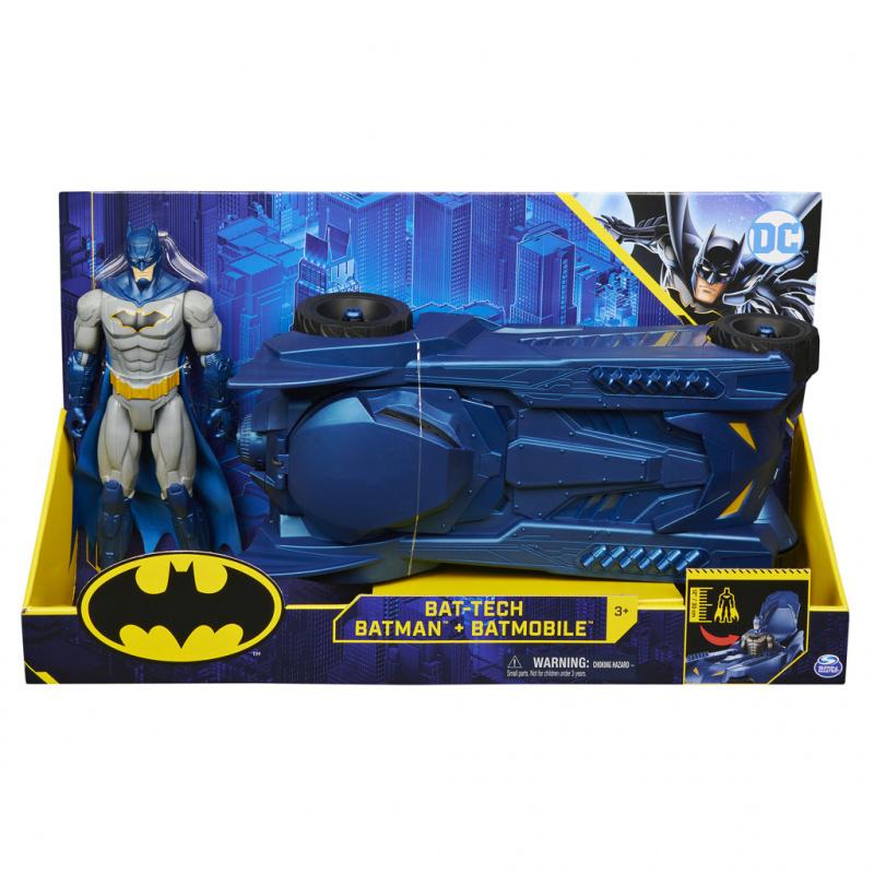 Spin Batmam Figurka Batmobile